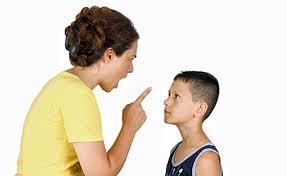 scolding